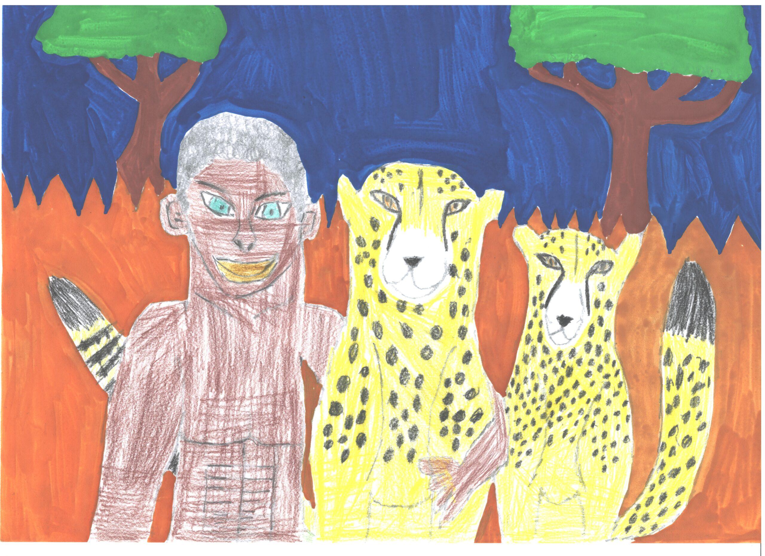 Julien et les guépards